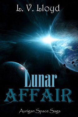 Lunar Affair - L.V. Lloyd - Aurigan Space Saga