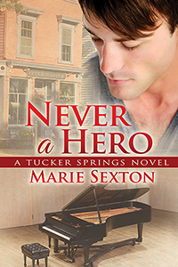 Book Cover: Never a Hero