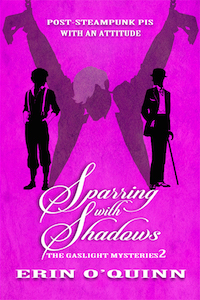 Sparring With Shadows - Erin O'Quinn - Gaslight Mysteries
