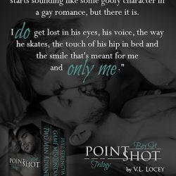 Point Shot Trilogy Box Set by V.L. Locey