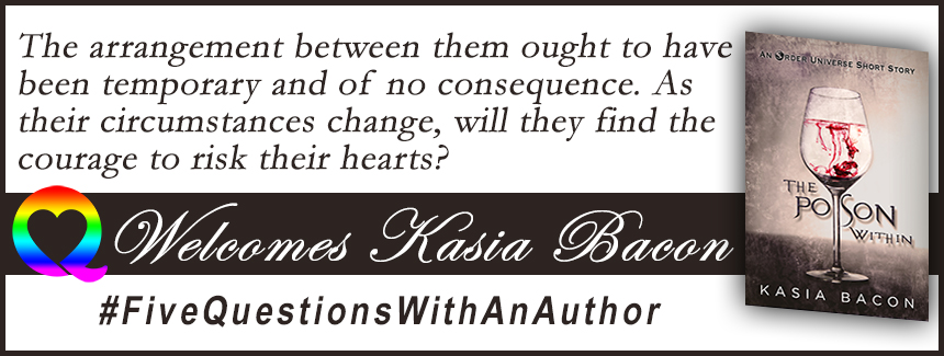 BOOK BLAST: The Poison Within by Kasia Bacon