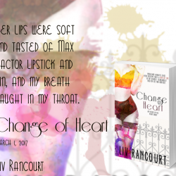 Change of Heart banner - Liv Rancourt