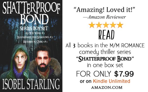 Get Shatterproof Bond Series Box Set by Isobel Starling on Amazon & Kindle Unlimited