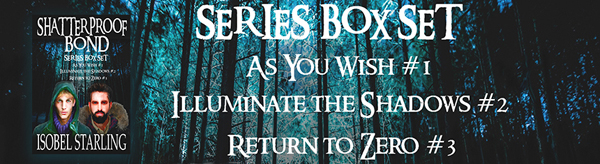 Shatterproof Bond Series Box Set banner - Isobel Starling