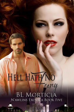Book Cover: Hell Hath No Fury - N'awlins Exotica Book Five