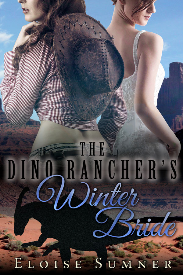 The Dino Rancher's Winter Bride - Eloise Sumner