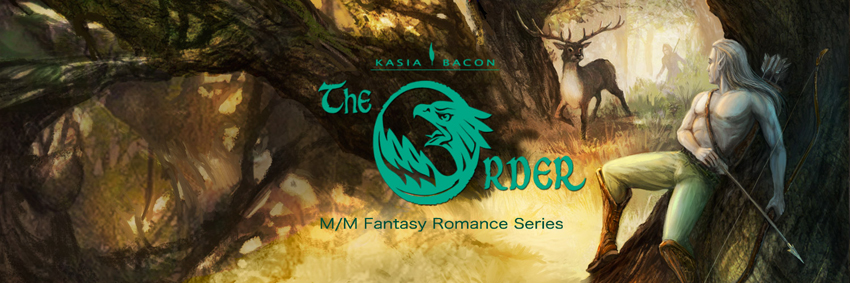 The Order series banner - Kasia Bacon