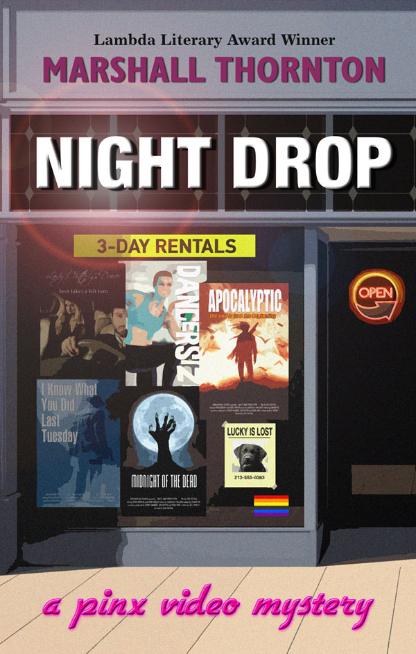 Night Drop - Marshall Thornton - Pinx Video Mystery