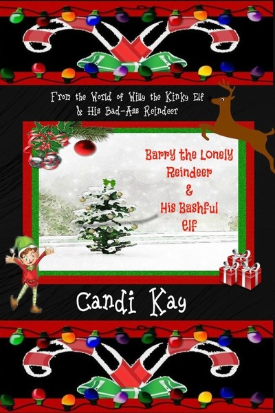 Barry the Lonely Reindeer and His Bashful Elf - Candi Kay