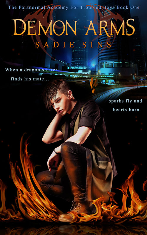 Demon Arms - Sadie Sins - Paranormal Academy for Troubled Boys