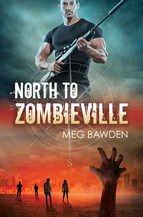 North to Zombieville - Meg Bawden