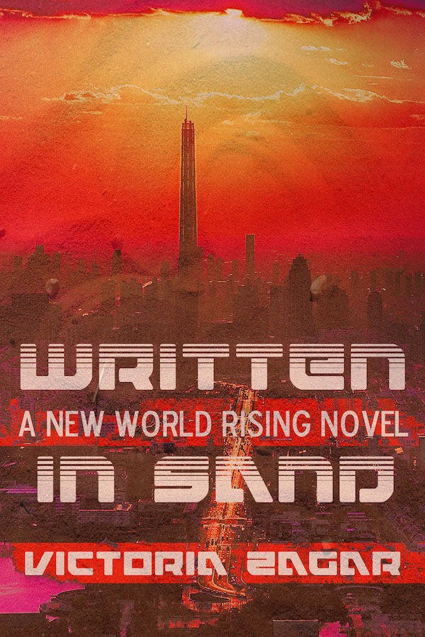 Written in Sand - Victoria Zagar - New World Rising
