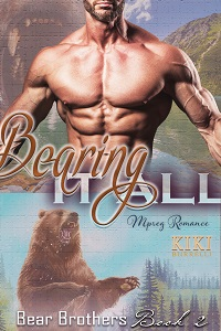 Book Cover: Bearing it All: Bear Brothers Mpreg Romance Book 2
