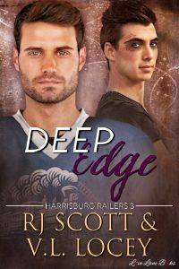 Deep Edge - RJ Scott and V.L. Locey - Harrisburg Railers