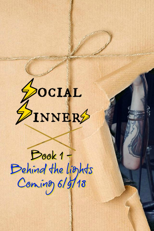 Book Cover: Social Sinners, Book 1 - Behind the lights