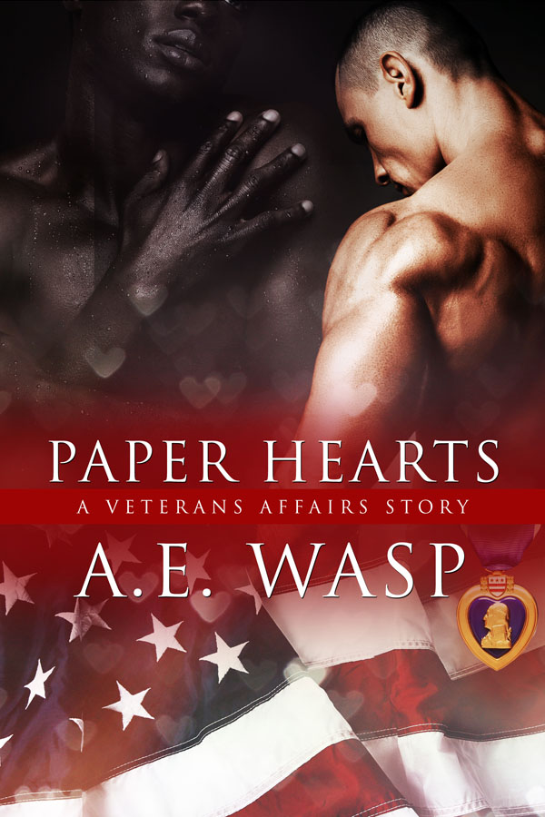 Paper Hearts - A.E. Wasp - A Veterans Affairs Story