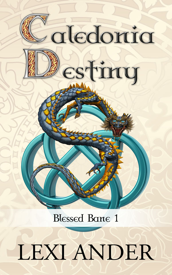 Caledonia Destiny cover reveal - Lexi Ander