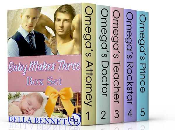 Baby Makes Three Box Set - Bella Bennet
