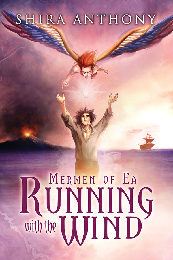 Running With the Wind - Shira Anthony - Mermen of Ea