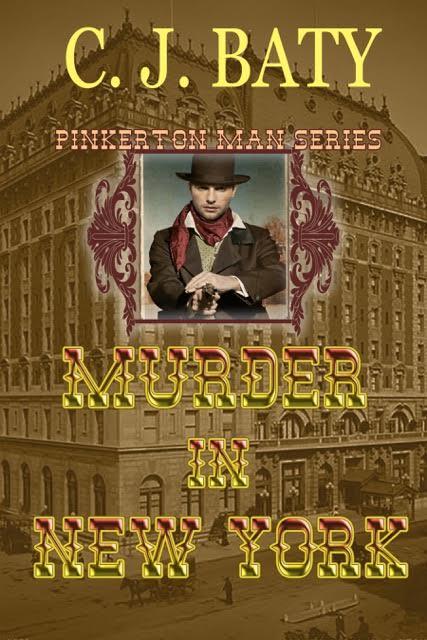 Murder in New York - C.J. Baty - Pinkerton Man
