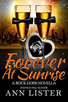 Book Cover: Forever At Sunrise - The Rock Gods Book 8