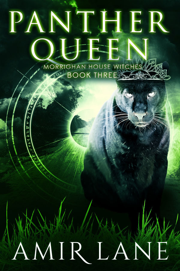 ANNOUNCEMENT/GIVEAWAY: Panther Queen, by Amir Lane