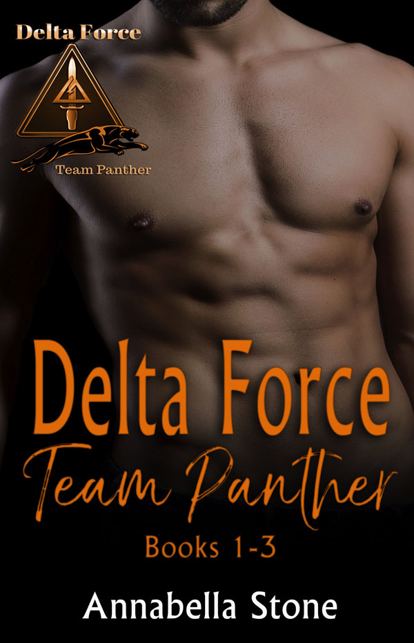 Delta Force Team Panther Books 1-3 - Anabella Stone