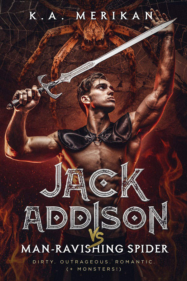 Book Cover: Jack Addison vs. Man-Ravishing Spider