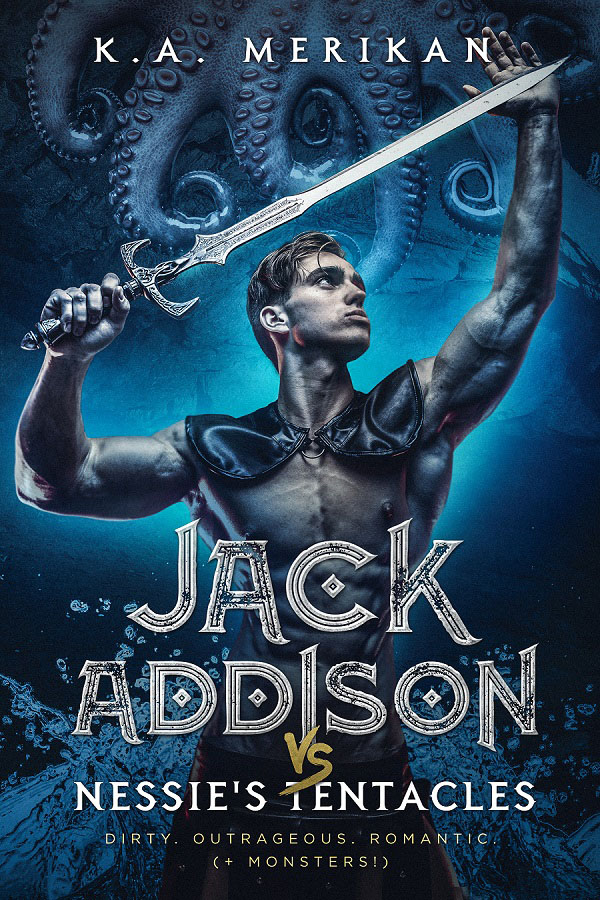 Book Cover: Jack Addison vs. Nessie's Tentacles